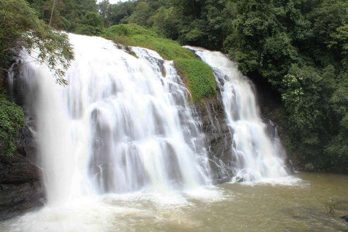 Abbey waterfall in Coorg
