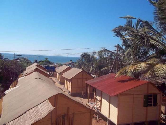 Tivai Beach Cottages in goa